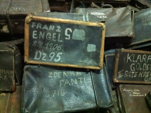Suitcases of Auschwitz Victims