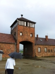 Gate of Auschwitz II / Birkenau