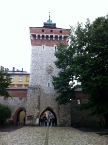 Entrance to Krakow's Old Town