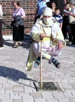 Levitator in Old Town