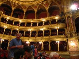 Interior of Budapest Opera