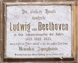Beethoven Slept Here
