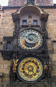 Celebrated Astronomical Clock