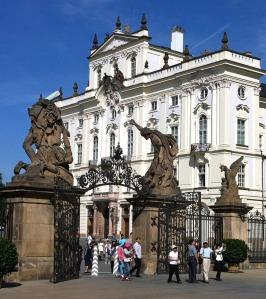 A Prague Castle Gate