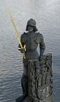 Swordsman on the Charles Bridge
