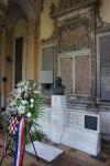 A memorial at Miragoj Cemetery