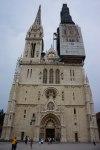 Zagreb Cathedral, under renovation