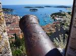 Canon over Hvar Town